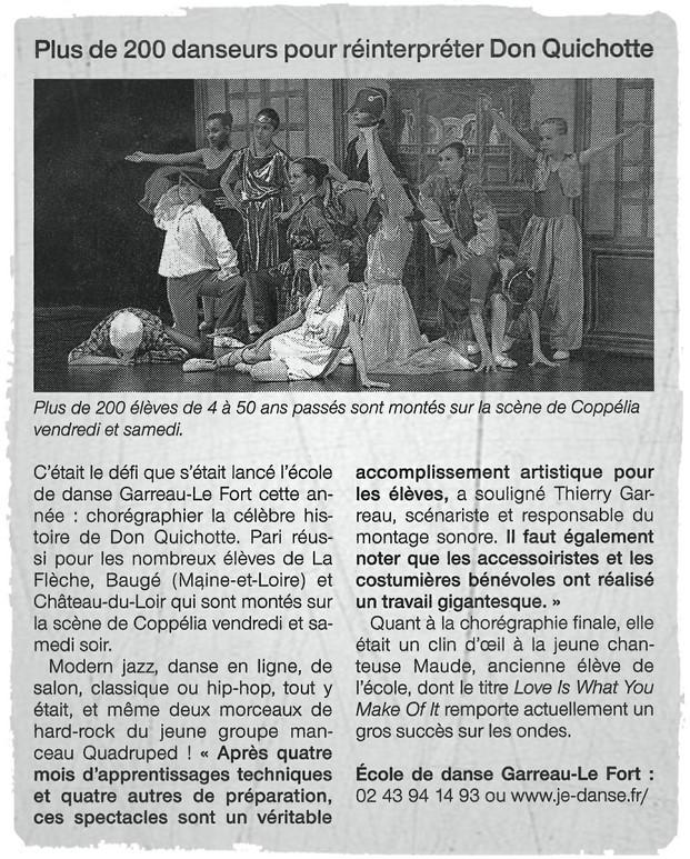 Spectacle 2013 Don Quichotte